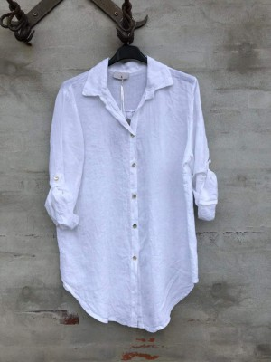 Cabana Living - Linen shirt White