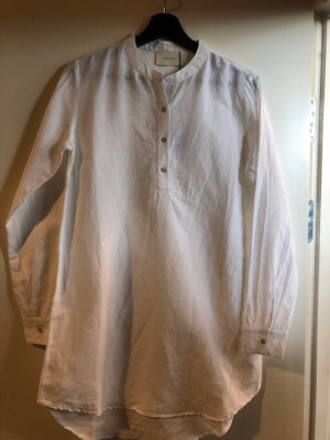 5bc9a0c9758f Neo Noir - Dia Linen Shirt White