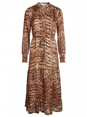 Love & Divine - Dress Tiger Lurex