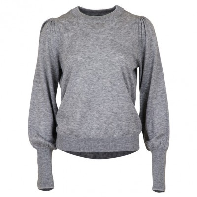 Neo Noir - Magdalena Knit Light Grey