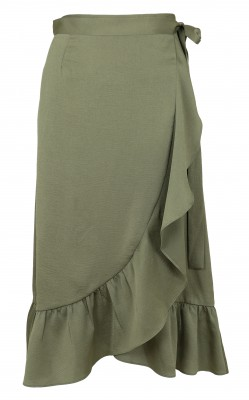 Neo Noir - Mika Solid Skirt Army