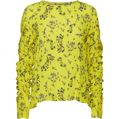 NORR - Tiffany top yellow