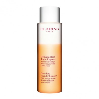 Clarins one-step cleanser w. orange