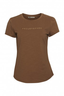 PBO - Philosopher T-Shirt Brown