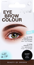 Depend eyebrow colour, sort