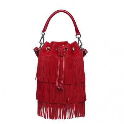 Leowulff red Farah bag