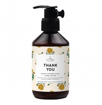 "The Gift Label - Hand Lotion ""Thank You"""