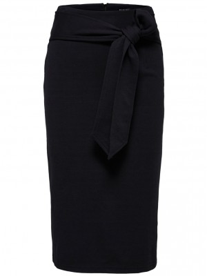 Selected Femme  Liba skirt sort