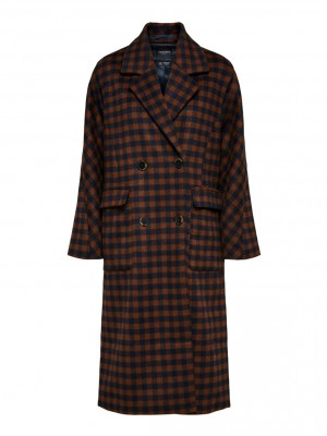 Selected femme Element check coat