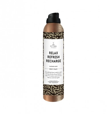 "The Gift Label - Body Foam ""Relax Refresh Recharge"""