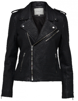 Selected Femme Sandy biker jakke sort