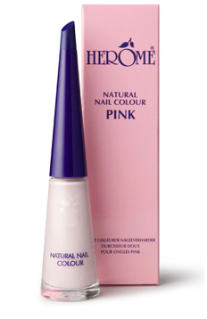 "Herôme - Natural Nail Colour ""Pink"" 10 ml."
