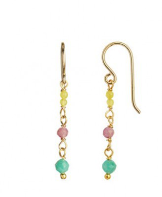 Stine A - Petit Earring on Hook Light Candy Mix