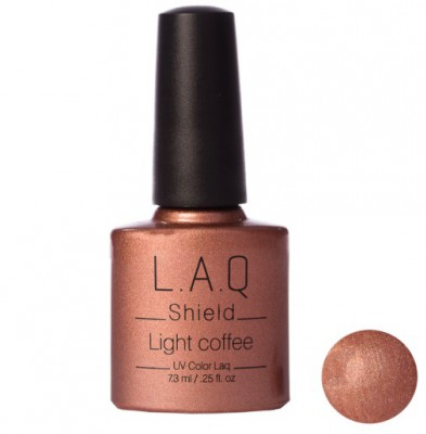 L.A.Q. SHIELD - Light Coffee