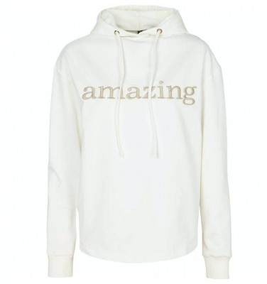 Prepair Amazing hoodie off white