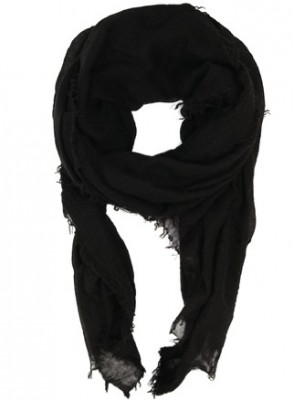 Black Colour - Eucalyptu scarf black