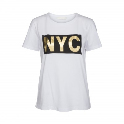 Sofie Schnoor - T-Shirt Gold NYC