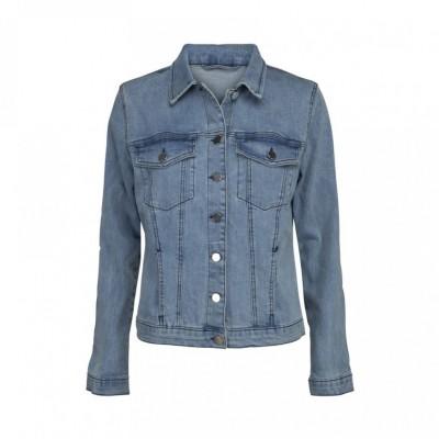 a75aebaa6aad Sofie Schnoor - Denim jakke blå