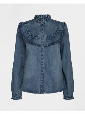 Sofie Schnoor - Blouse denim blue