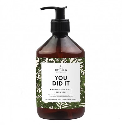 "The Gift Label - Hand soap ""You did it"""