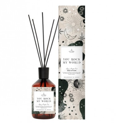 "The Gift Label - Reed Diffuser ""You rock my world"""