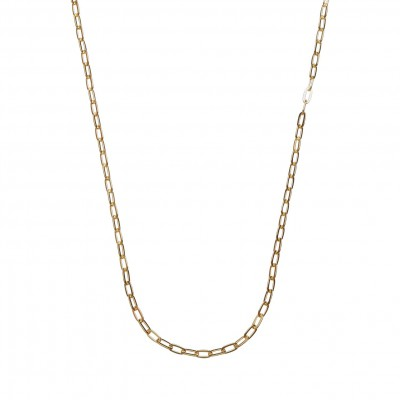 Stine A - Big Chunky Pendant Chain Gold