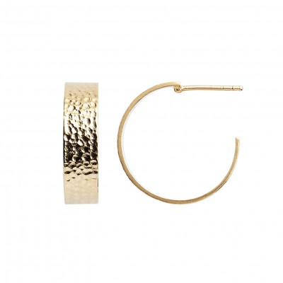 Stine A - Big La Mer Creol Earring Gold