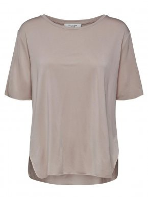 Selected Femme Nakena Rosa T-shirt