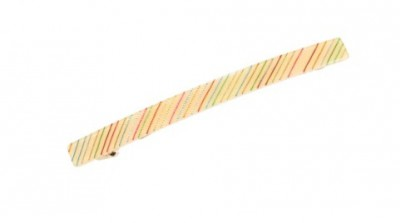Pico - Frenchie Hair Clip Yellow/Rainbow