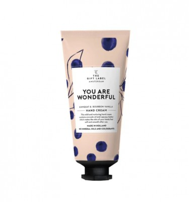 "The Gift Label - Hand Cream ""You Are Wonderful"""