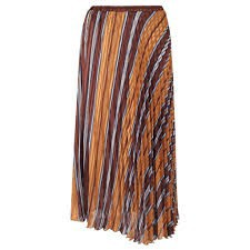 Neo Noir - Fria Lurex Stripe Brown