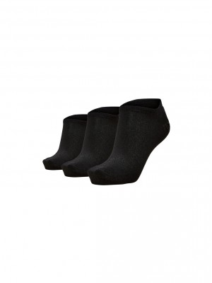 Selected Femme - Vada 3-pack sneaker sock Black
