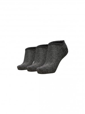 Selected Femme - Vada 3-pack sneaker sock Silver