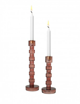 Cozy Living - Fifi glass candle holder lille
