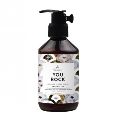 "The Gift Label - Hand Lotion ""You Rock"""