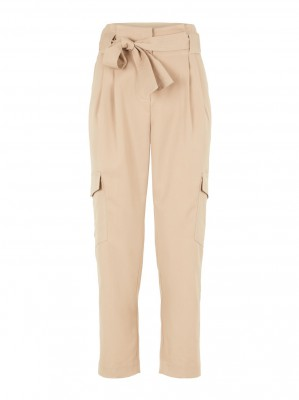 Y.A.S - Cairo Ankle Pants Light Taupe