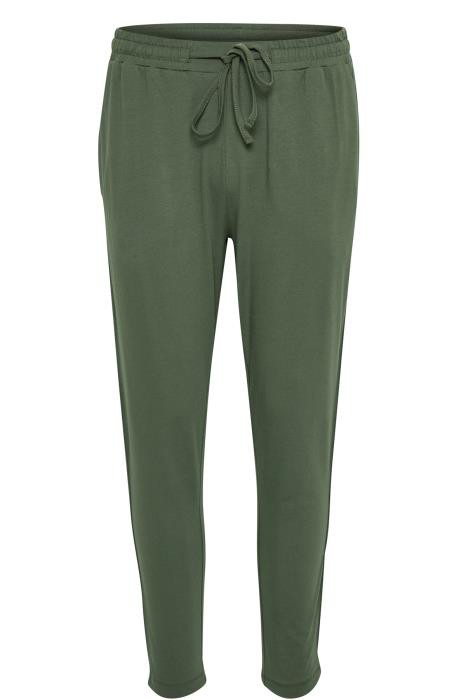Grønne dejlige behagelige bukser med snor i taljen fra Kaffe Tøj