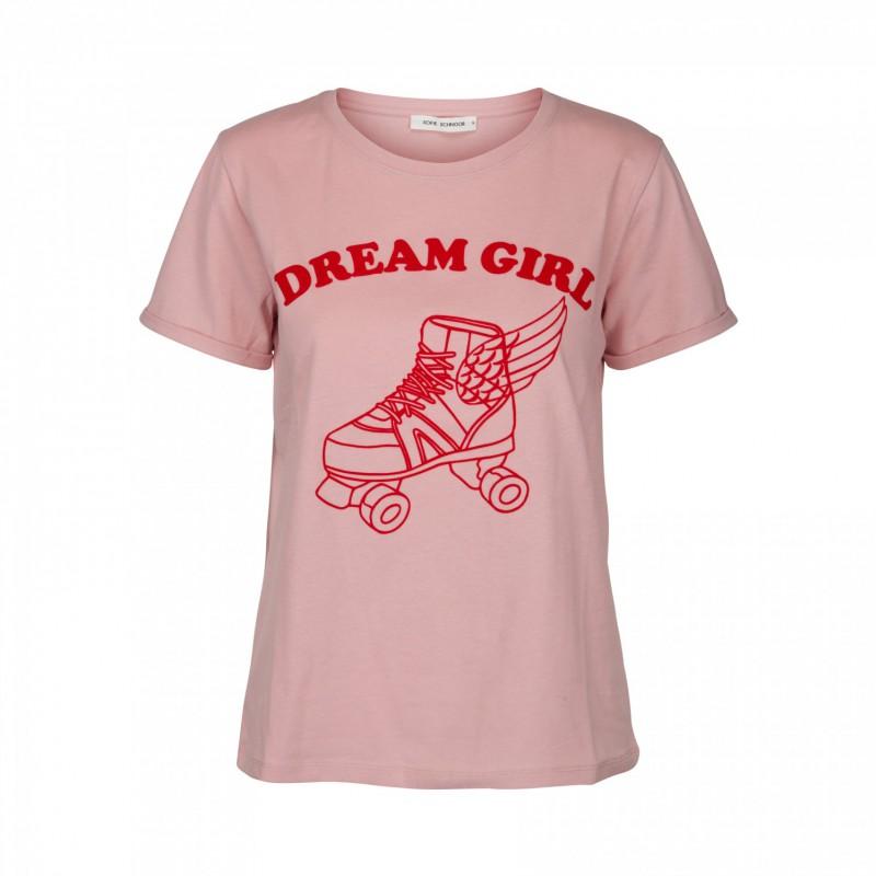 405228cf7cc Flot rosa t-shirt med dream girl logo fra Sofie Schnoor